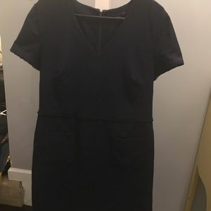 Black/Navy Banana Republic Dress